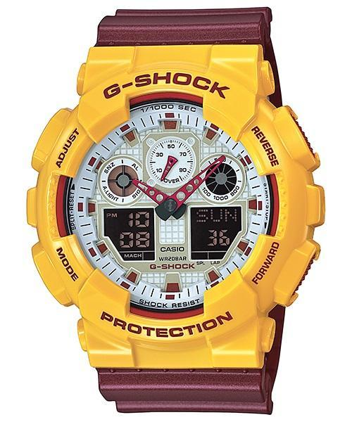 Casio G-Shock Standard Analog Digital Watch GA‐100CS‐9