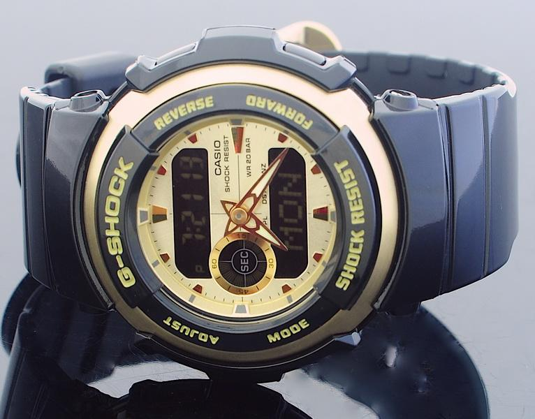 Casio G-Shock Treasure Gold Watch G-300G-9A