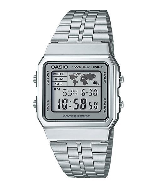 CASIO GENERAL A500WA-7D RETRO DIGITAL WATCH