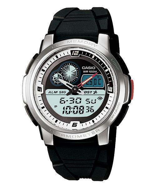CASIO GENERAL AQF-102W-7B Sports Functions