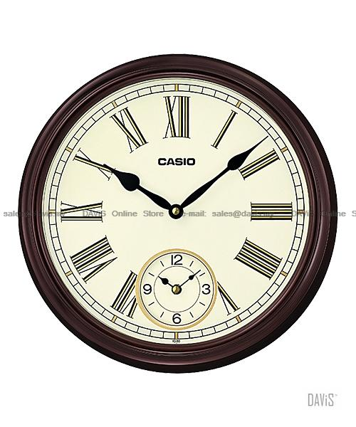 Casio iq 65 analogue wall clock clas end 7 13 2018 419 pm for Dual time wall clock