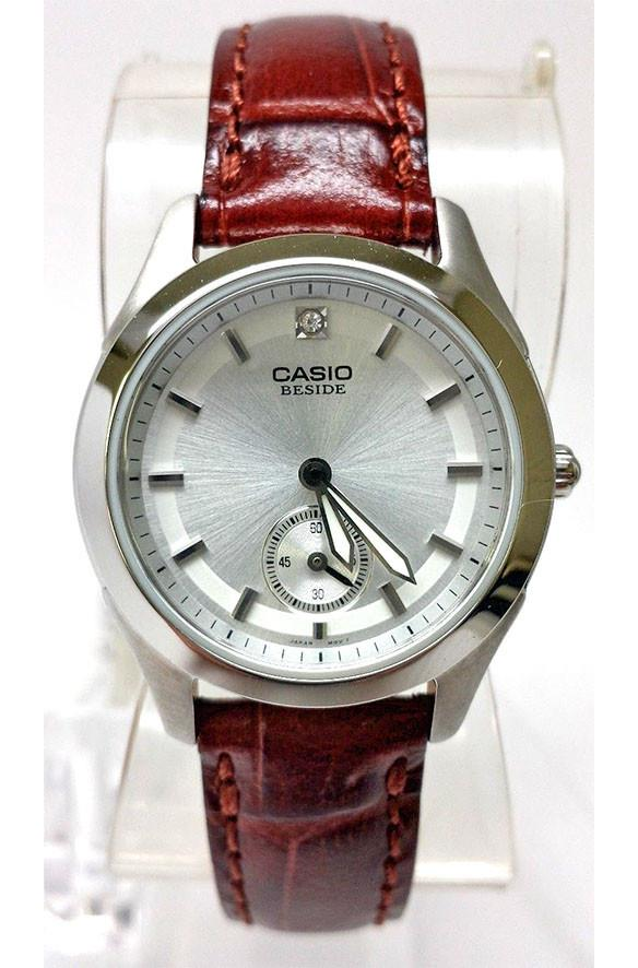 Casio Beside Leather Band Ladies Watch BEL-115L-7A
