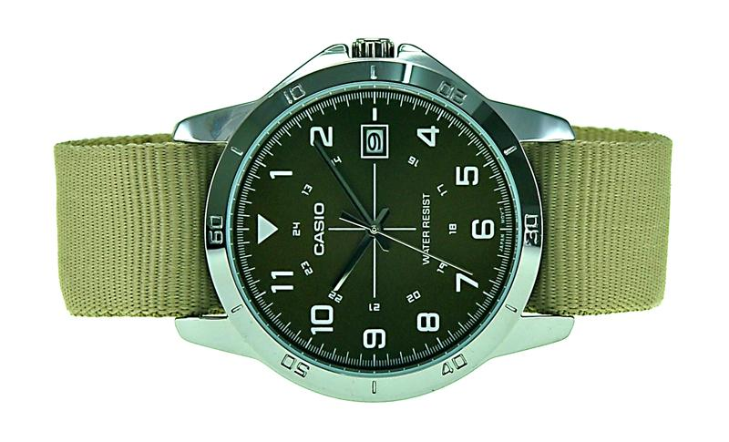 CASIO Men Analog Date Watch MTP-V008B-5BUDF