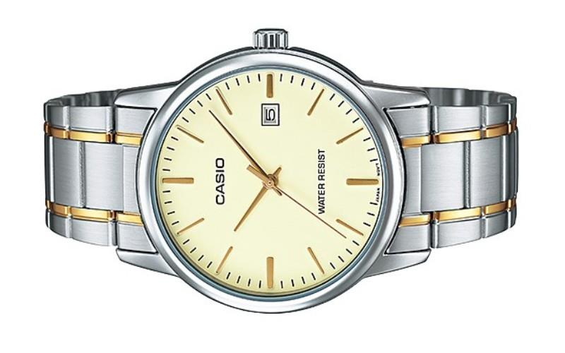 Casio Men Date Watch MTP-V002SG-9A