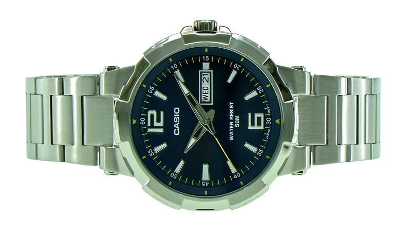 Casio Men Day, Date Watch MTP-E119D-2AVDF