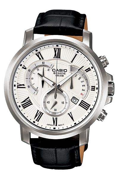 Casio Beside Men's Chrono Retrograde Watch # BEM-506BL-7AV