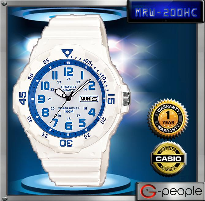 CASIO MRW-200HC-7B2V 100M WATCH☑ORIGINAL☑