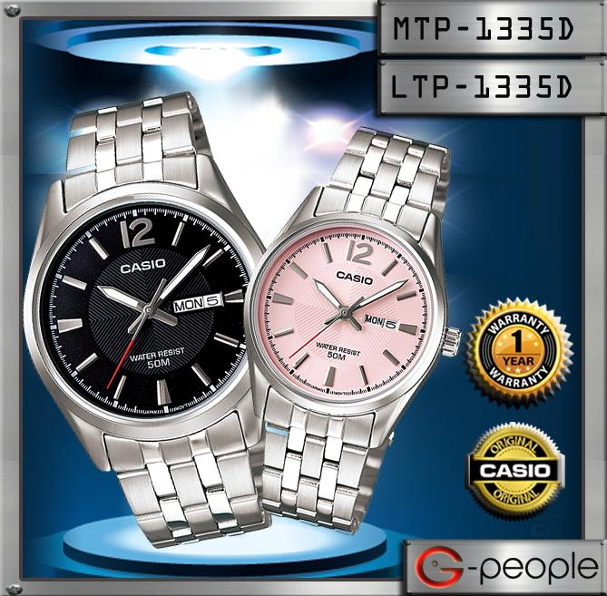 CASIO MTP-1335D-1AV + LTP-1335D-5AV PAIR WATCH☑ORIGINAL