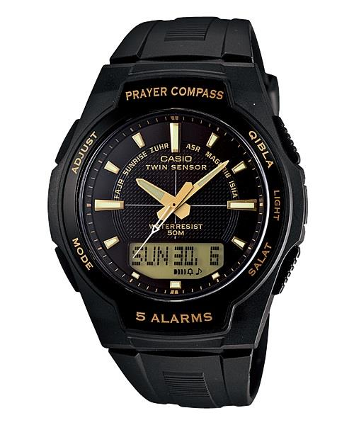 CASIO PRAYER COMPASS CPW-500H-1A ★Twin Sensor ★