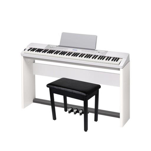 Casio Privia PX350 WHITE Digital piano 88 key FREE Stand,Chair,Pedal
