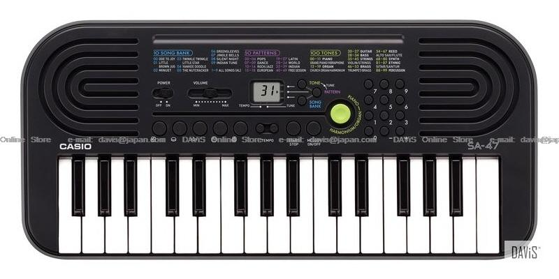 CASIO SA-47 Grey Mini Keyboard Free delivery in Klang Valley