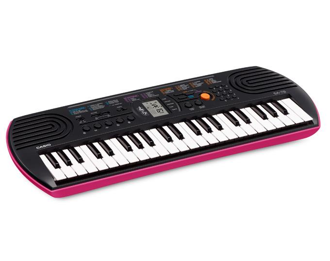 CASIO SA-78 Mini Keyboard - PINK