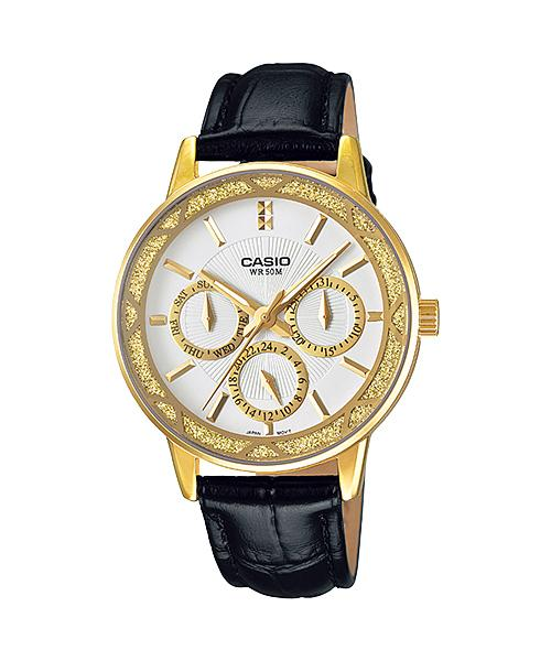 CASIO STANDARD ANALOG LTP-2087GL-1A LADIES WATCH