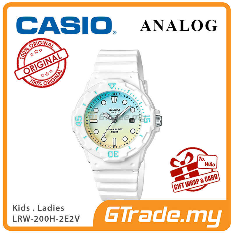 CASIO STANDARD LRW-200H-2E2V Analog Ladies Watch | Date Display