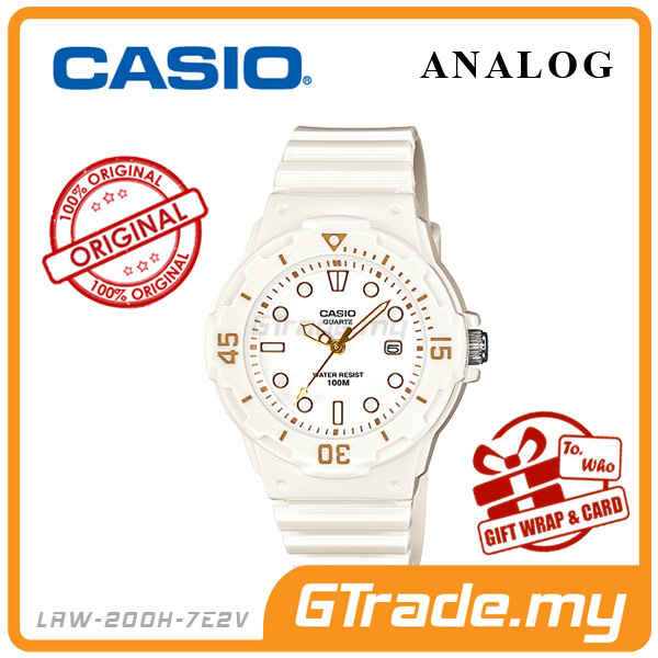 CASIO STANDARD LRW-200H-7E2V Analog Ladies Watch | Date Display