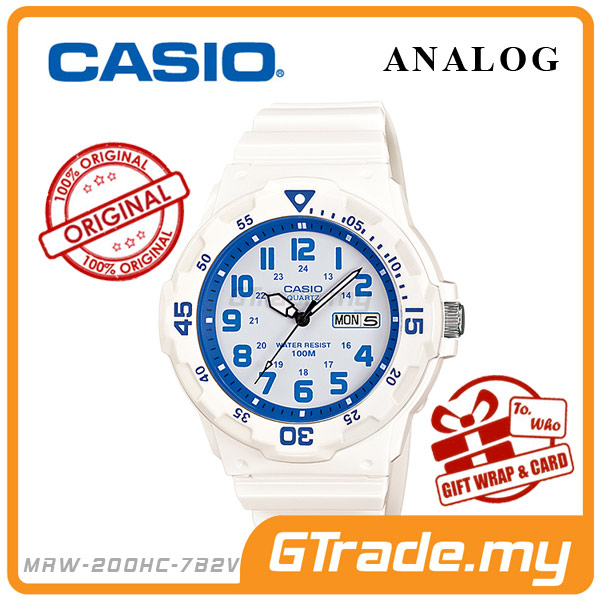 CASIO STANDARD MRW-200HC-7B2V Analog Mens Watch | Day Date Display