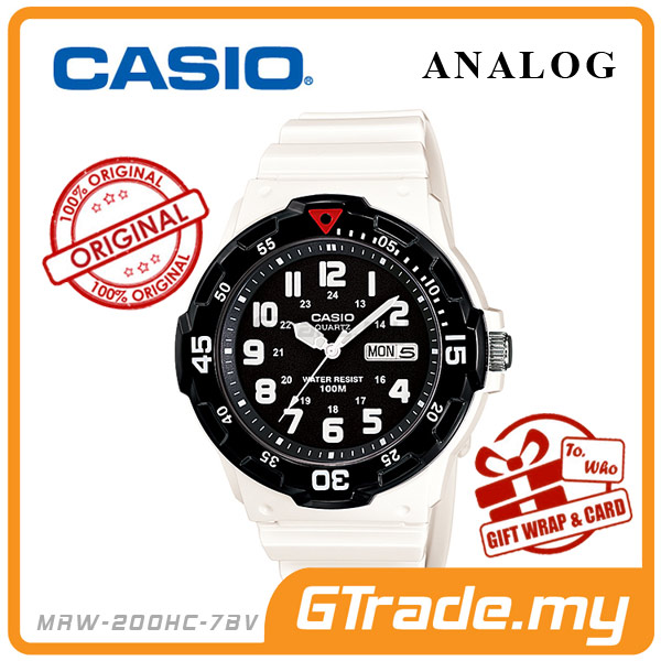 CASIO STANDARD MRW-200HC-7BV Analog Mens Watch | Day Date Display