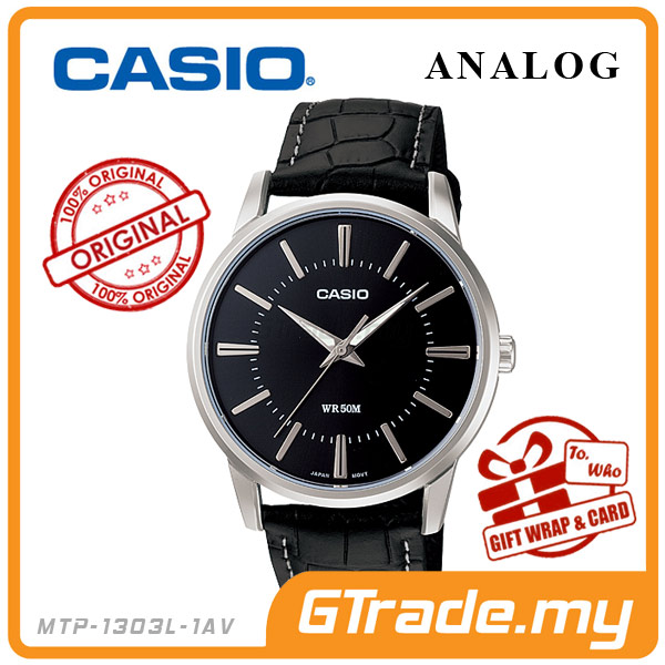 CASIO STANDARD MTP-1303L-1AV Analog Mens Watch | Clean & Elegance
