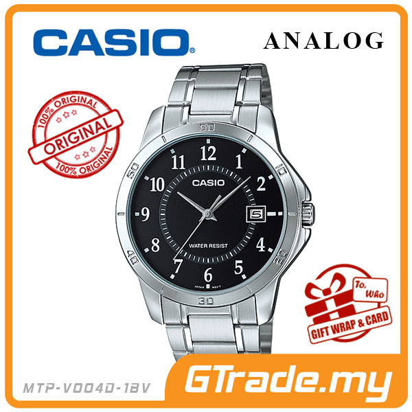 CASIO STANDARD MTP-V004D-1BV Analog Mens Watch | Easy Simple