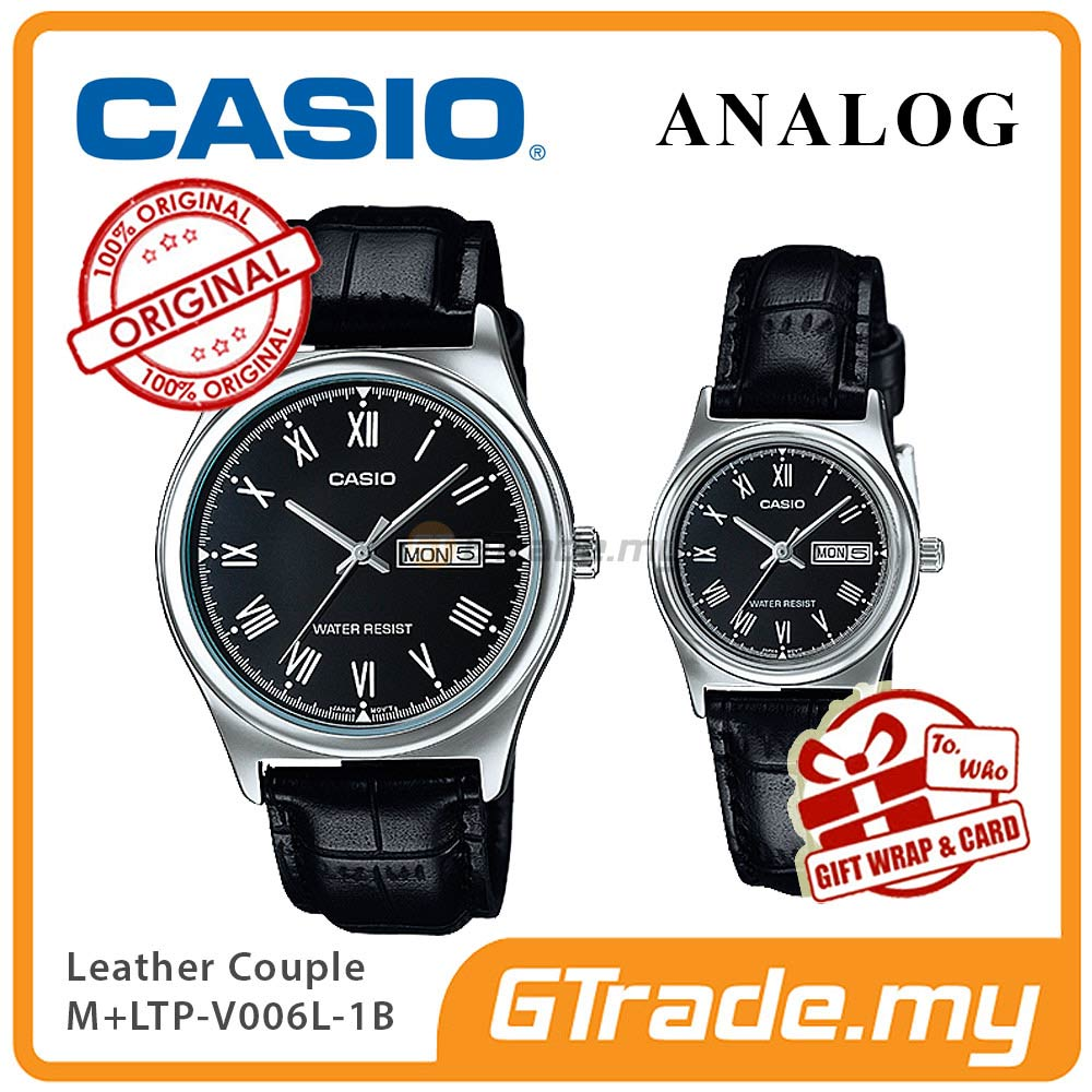 CASIO STANDARD MTP-V006L-1BV & LTP-V006L-1BV Analog Couple Watch