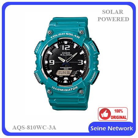 CASIO TOUGH SOLAR AQS-810WC-3A WATCH【ORIGINAL】