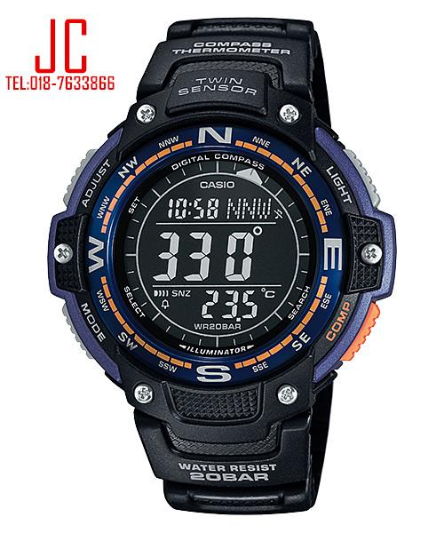 CASIO TWIN SENSOR SGW-100-2B ☑ORIGINAL☑