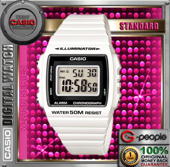 CASIO W-215H-7AV STANDARD DIGITAL WATCH ☑ORIGINAL☑