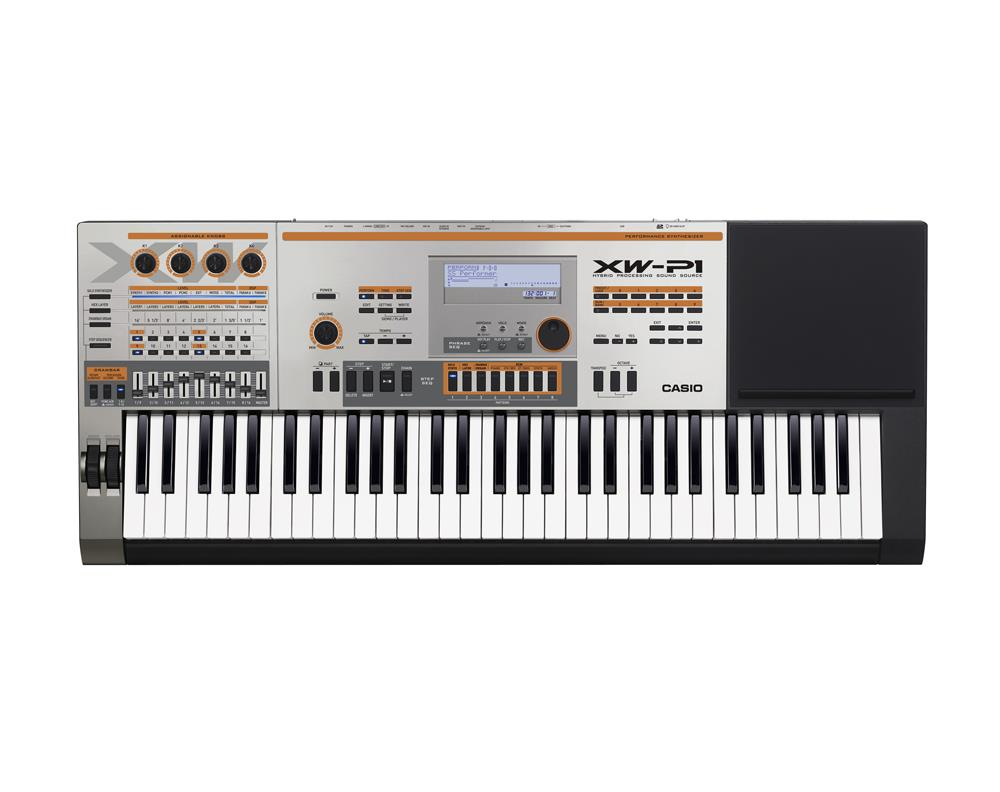 Casio XW-P1 Digital Synthesizer Keyboard 61 keys 64 Polyphony PCM New