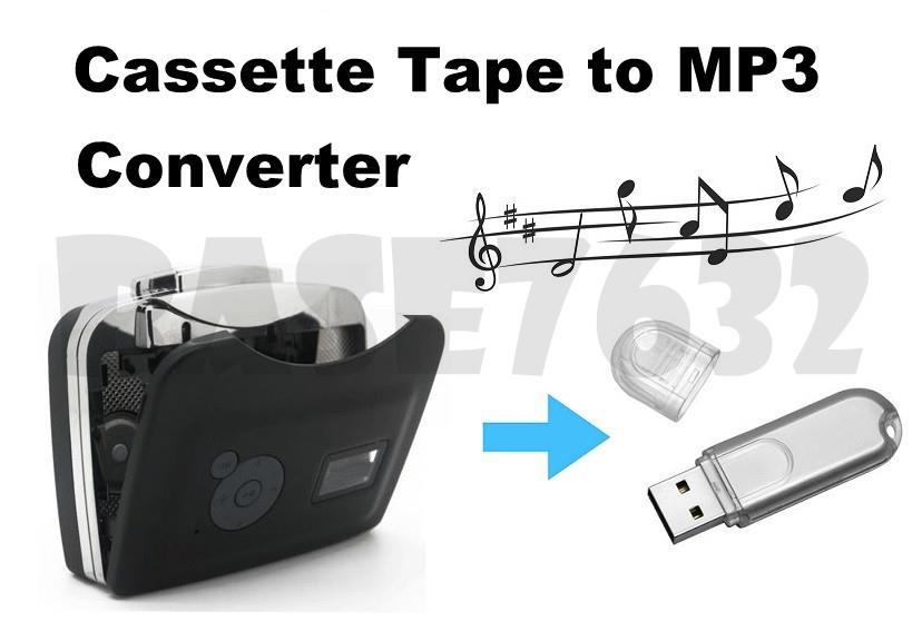 Cassette Tape to USB MP3 Music Player Converter Output to USB Direct