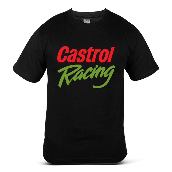 CASTROL Car Motorcycle Motorbike Engine OIL Fuel Racing Unisex T-Shirt