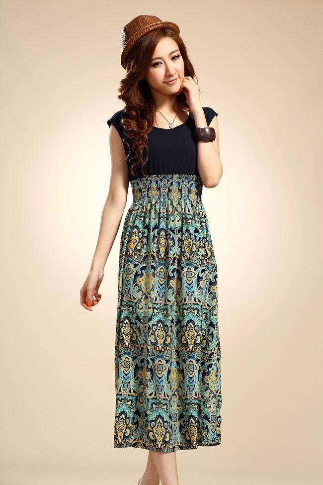 Fashion Blog: Long Dress Casual