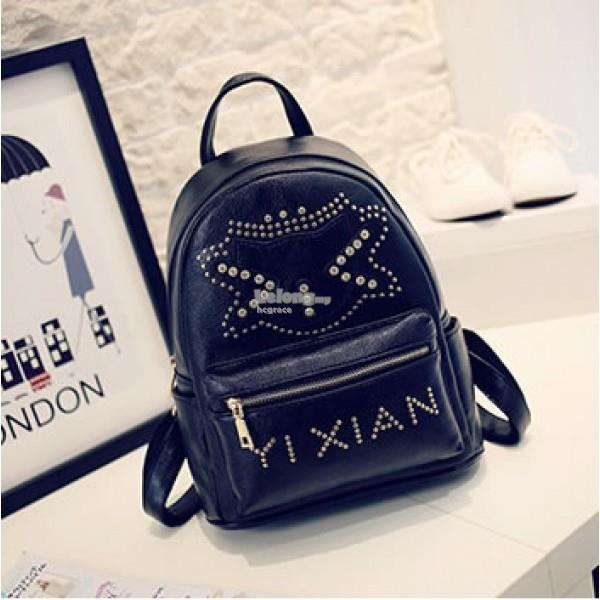 Casual Cute CAT Backpack / PU Leather Backpack [2 colours]