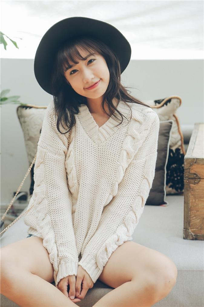 Casual Knit Top Almond