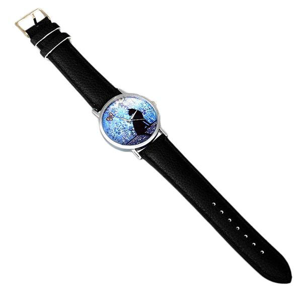 Cat Pattern PU Leather Women Wrist Watch - FREE SHIPPING