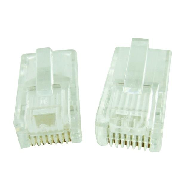 CAT6 / CAT-6 Modular Plug (Unshielded) (100pcs/Pack)
