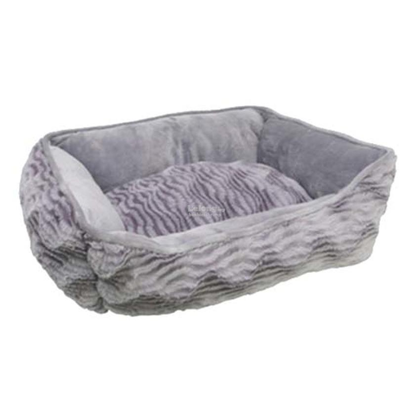 Catit Style Cat Rectangular Reversible Cuddle Bed - Grey - XSmall - 43