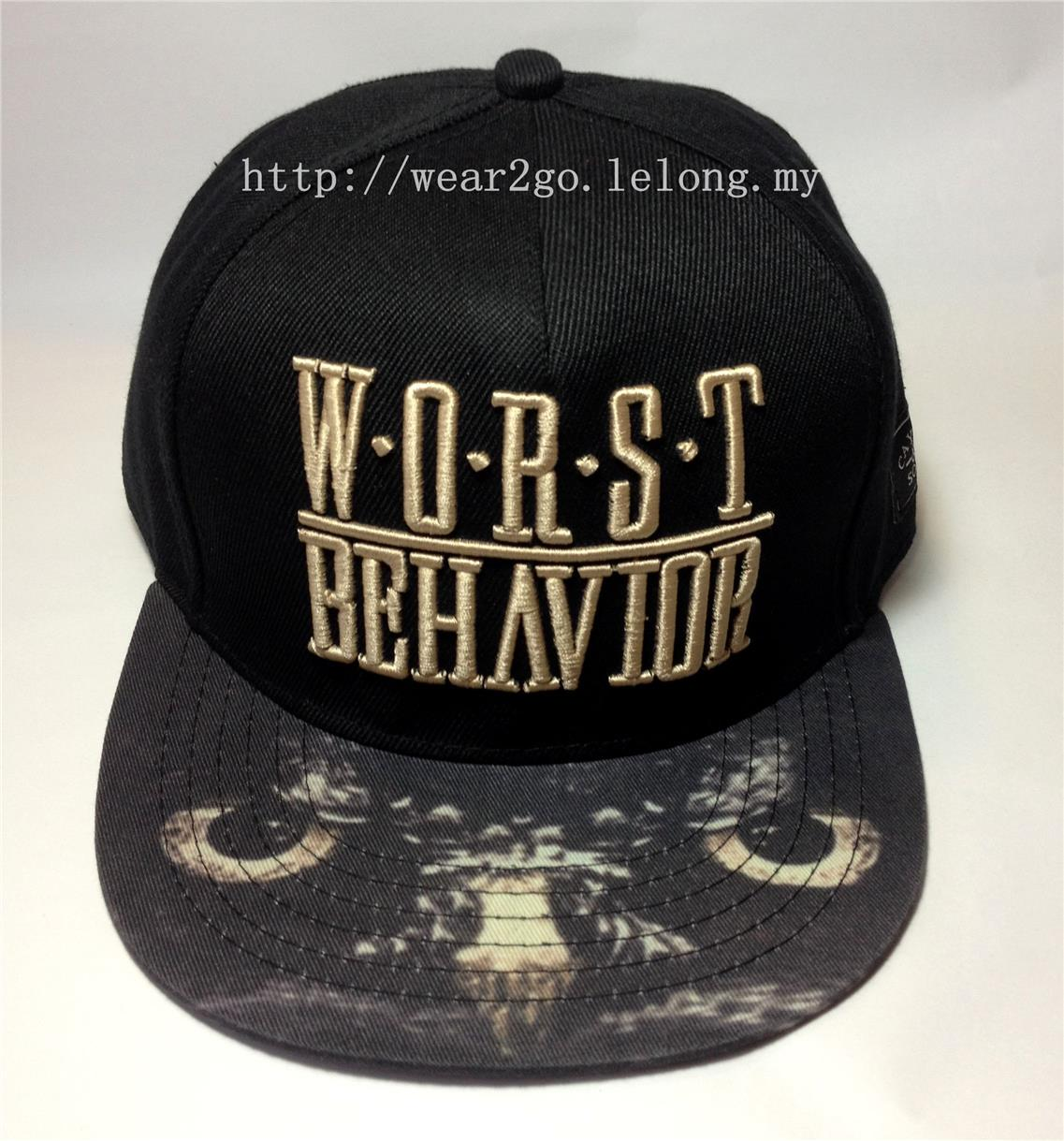 Cayler & Sons 'WORST BEHAVIOR' Snapback