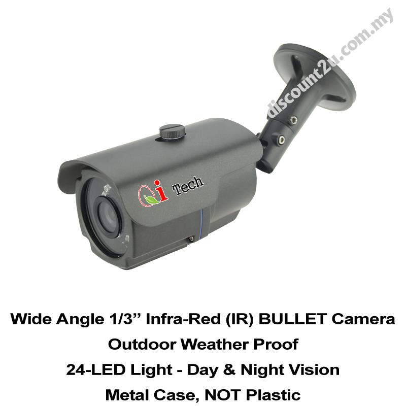 CCTV Out Door IR Bullet Camera 1/3' Day & Night View - AHD 960P 1.3MP