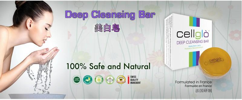 Cellglo Deep Cleansing Bar (The Best Soap Keep Your Skin Refresh)