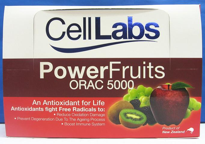 CellLabs Power Fruits 30 X 10's ORAC 5000