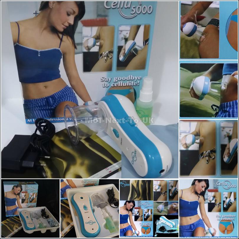 Cellu 5000 Professional Cellulite Vacuum Therapy Slimming At Home