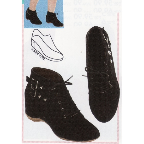 """**CELLY**2"""" Ladies High Heel Boots(Black)"""