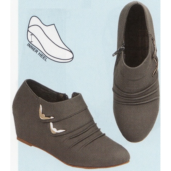 """**CELLY**2"""" Ladies High Heel Boots(Grey)"""
