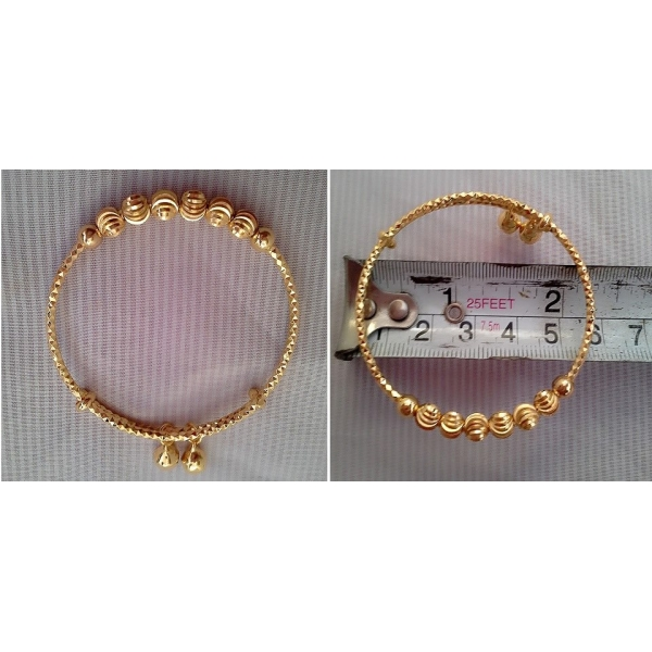 **CELLY**24K GOLD PLATED CHILDREN BANGLE