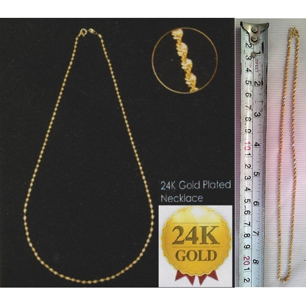 **CELLY**24K GOLD PLATED NECKLACE