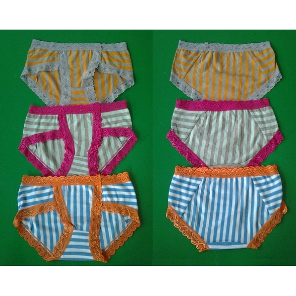 **CELLY**3 IN 1 COTTON PANTIES (ASSORTED COLOUR)