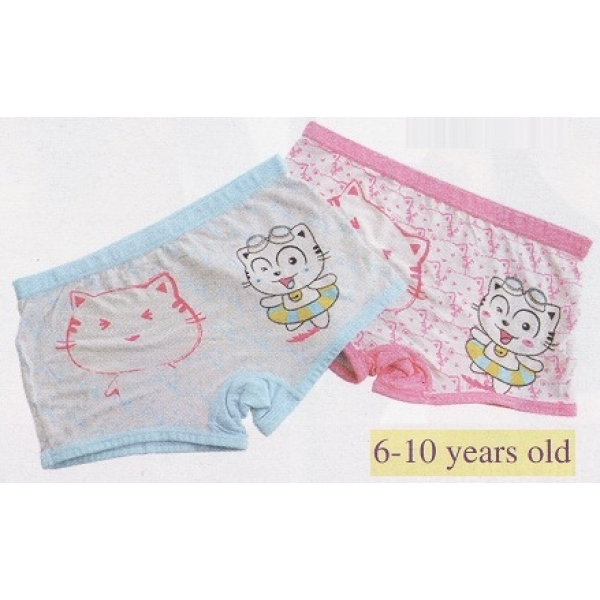 **CELLY**6-10 YEARS OLD CHILDREN (GIRL) UNDERWEAR (ASSORTED COLOUR)