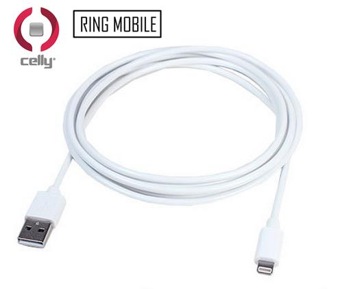 Celly 8pin Lighting Data Cable - USBIP5 - rmtlee