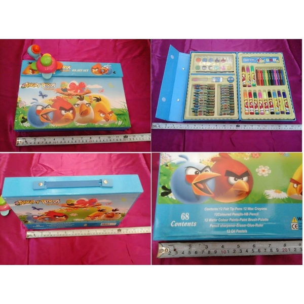 **CELLY**ANGRY BIRD 68 ART SET