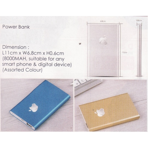 **CELLY** APPLE 8000 MAH POWER BANK